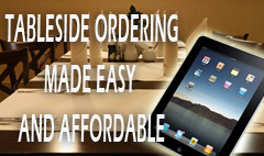 Tableside ordering made easy and affordable